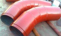 双金属型式煤粉管道耐磨弯头