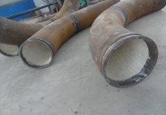 钢厂高炉陶瓷贴片耐磨弯头